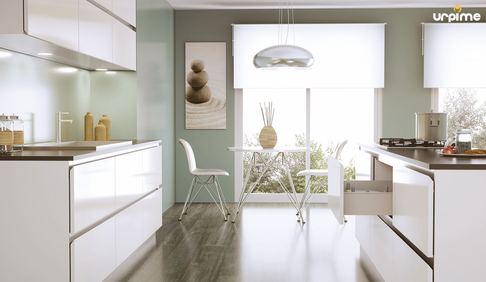 Ideas para amueblar la cocina urpime for Ver cocinas montadas